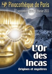 Affiche de l'expo L'or des Incas